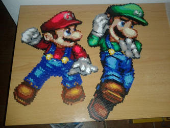 Super Mario Brothers by Jesusclon