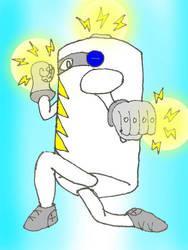 Battery Fists by Jesusclon