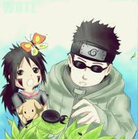 PC: Shino and Ayaka by webrokethelaw