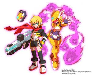 Kasai: Megaman model CF by CyberBeastWarrior