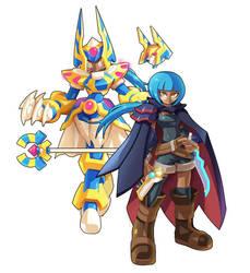 Mirage: Megaman Model AN by CyberBeastWarrior