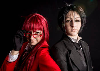 Grell and Sebastian by sherlymate