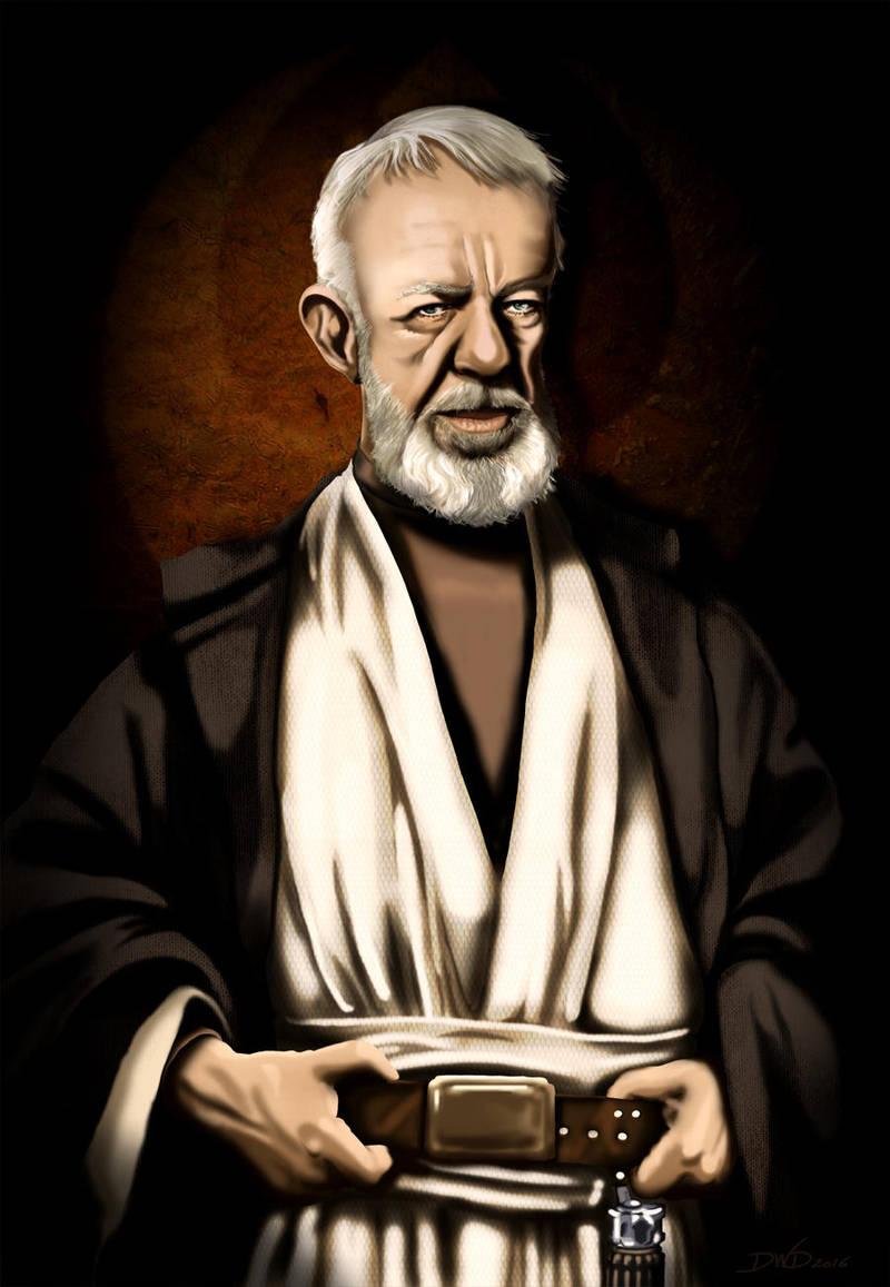 Obi Wan Kenobi star wars by Dawid-B