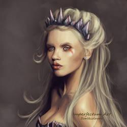Elf portrait by Imperfectum-Paranoid