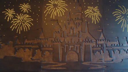 Disneyland Hotel headboard by HappyHaunts999
