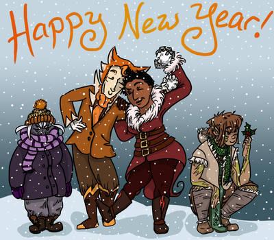 New Year, New Comics by ElwenAldalinde