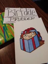 Birthday Derp by ElwenAldalinde