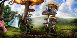Alice in Wonderland by fernandda