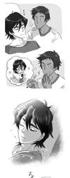 Klance - Sketch Comic by shevoj