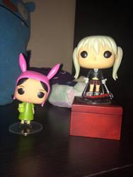 Maka and Louise by Stitchpunk89