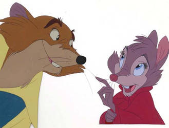 Justin and Brisby by Stitchpunk89