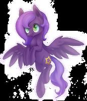 Violet Star by ILightningStarI