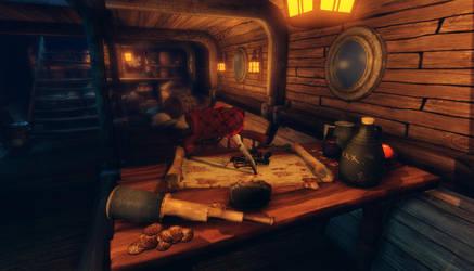 Pirate Ship 05 by MystiqueX