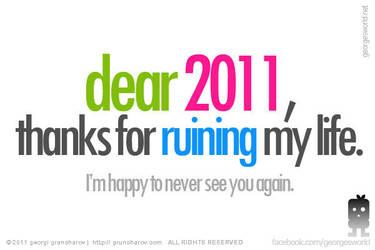 Dear 2011 by treZ