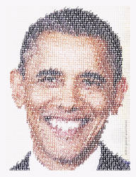 Fonts and Faces - Barack Obama by treZ