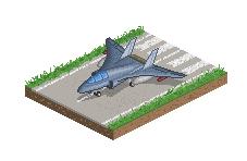 Jet Plane by StylePixelStudios