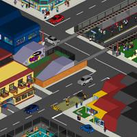 Cityscape No.1 by StylePixelStudios