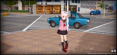 MMD Newcomer: Harusame (Autumn mode) by Ponpu-cho by XRRoy