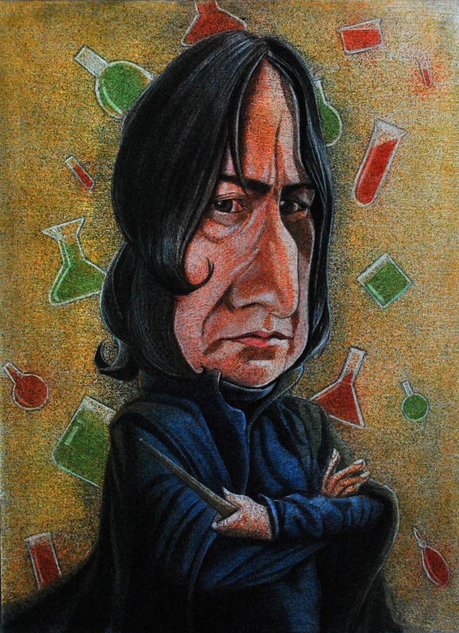 Snape by Johnatyroth