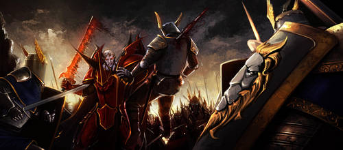 No Surrender to the Rightous by Johnatyroth