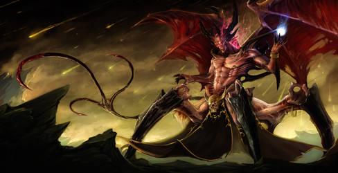 Alraz'Byroth the Deceiver by Johnatyroth
