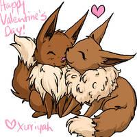 Happy Valentine's Day by Xuriyah