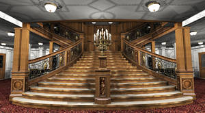 Titanic 1st Class Reception VI by Hudizzle