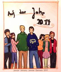 Januar - Happy new Year by Arisa93