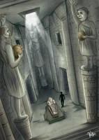 Lemuria, priest tomb by veika