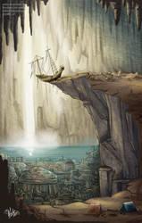 Atlantis Concept Art by veika