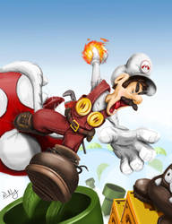 Mario is mad by paatoo
