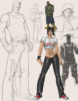 Street Punks 2 by pixelcharlie