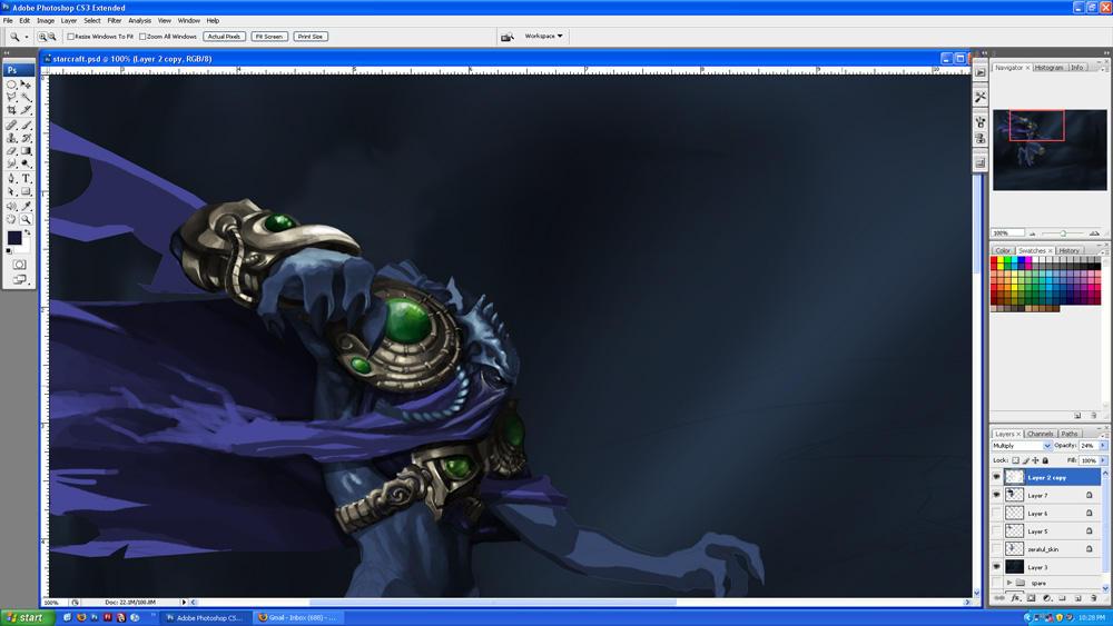 work in progress by pixelcharlie