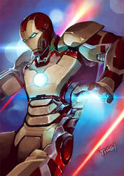 Iron Man 3 Fan Art by pixelcharlie