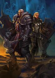 Warriors of Zakarum by pixelcharlie