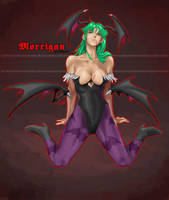 Morrigan by pixelcharlie