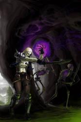 Diablo 2 Necromancer by EnriqueNL