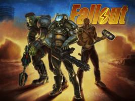 Fallout Friends by EnriqueNL