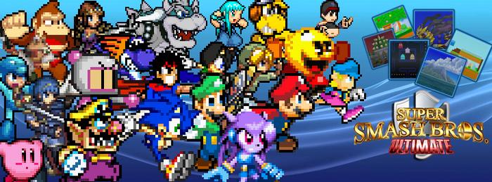 Super Smash Bros. Ultimate Banner by Jack-Hedgehog