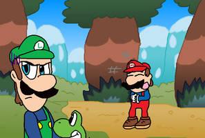 Mamma? Mamma Luigi?! by Jack-Hedgehog