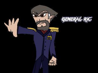General Ric (New Human O.C) by Jack-Hedgehog