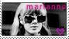 Marianne Faithfull Stamp by ZiggaLig