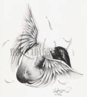 Angel Tattoo by disdaindespair