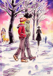 Winter Morning by haitchu