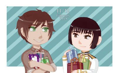 .: Happy Birthday Spain and Japan!! :. by Keiko-Italy