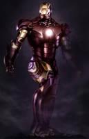 iron man digital painting by Egeer