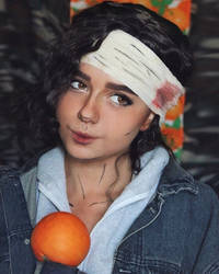 Clementine from The Walking Dead by Gistefiya