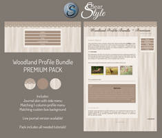 Woodland Profile Bundle ~ Premium by ClearStyle