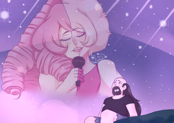Greg remembers Pink Diamond by SaraDemons14