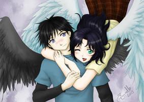 Angels in love by LuizRaffaello